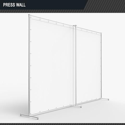 PRESS WALL (сзади)